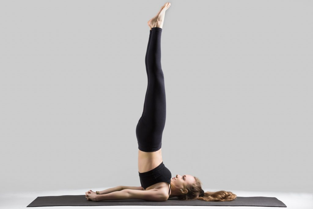 Sarvangasana (Shoulder Stand Pose)