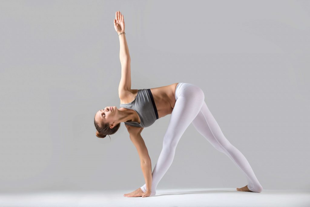 Trikonasana or Extended Triangle Pose